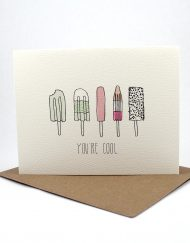 Popsicle Your Cool card