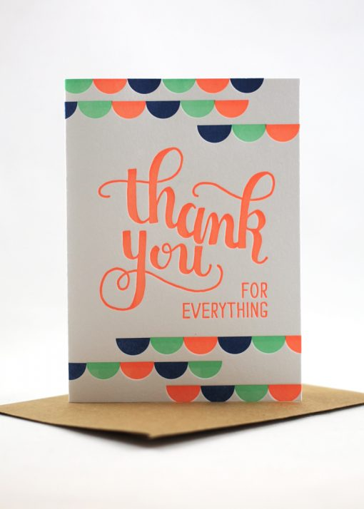 Teachers Day Thank You Cards