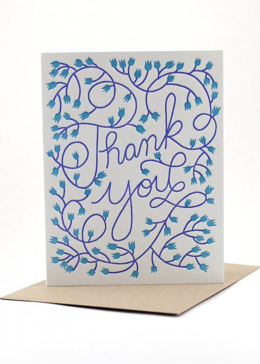 Hand drawn Thank You card