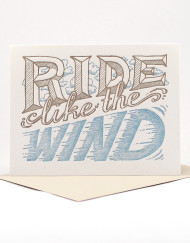 Ride Like the Wind