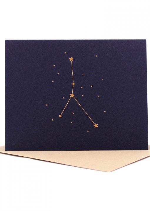 Constellation card, Cancer