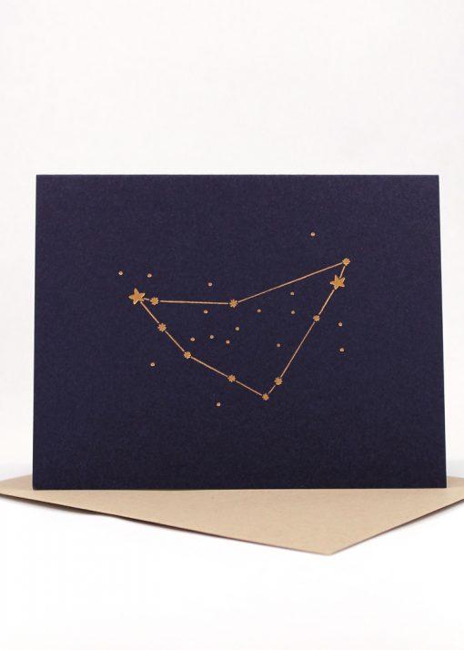 Constellation card, Capricorn