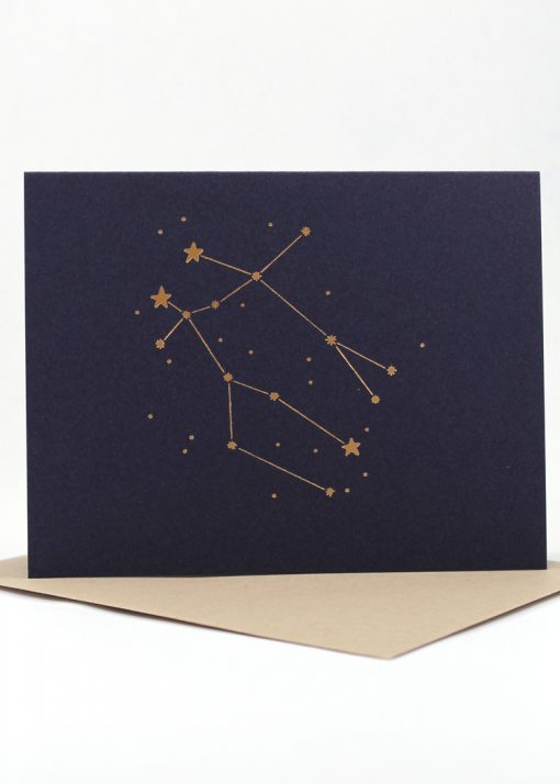 Constellation card, Gemini
