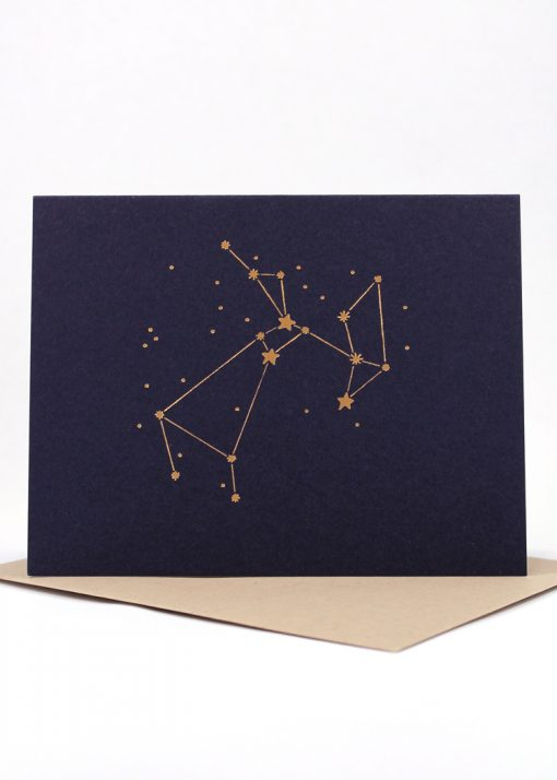Constellation card, Sagittarius