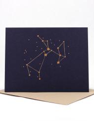 Constellation card, Sagittarius