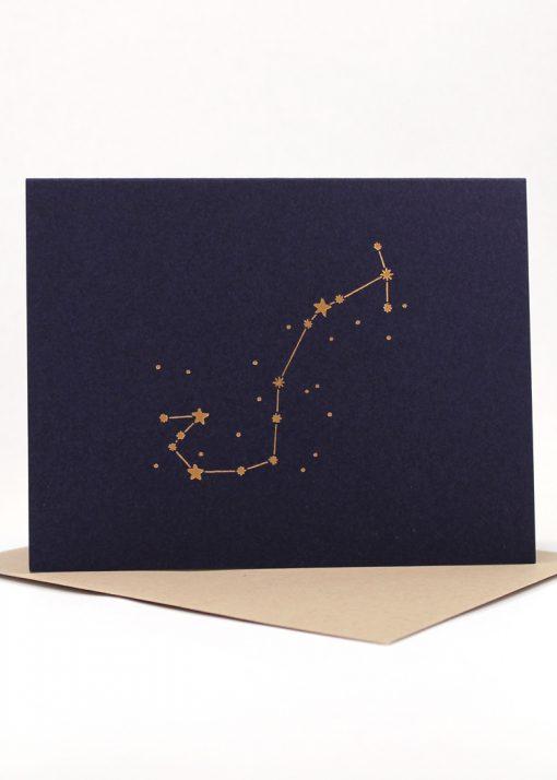 Constellation card, Scorpio