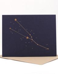 Constellation card, Taurus
