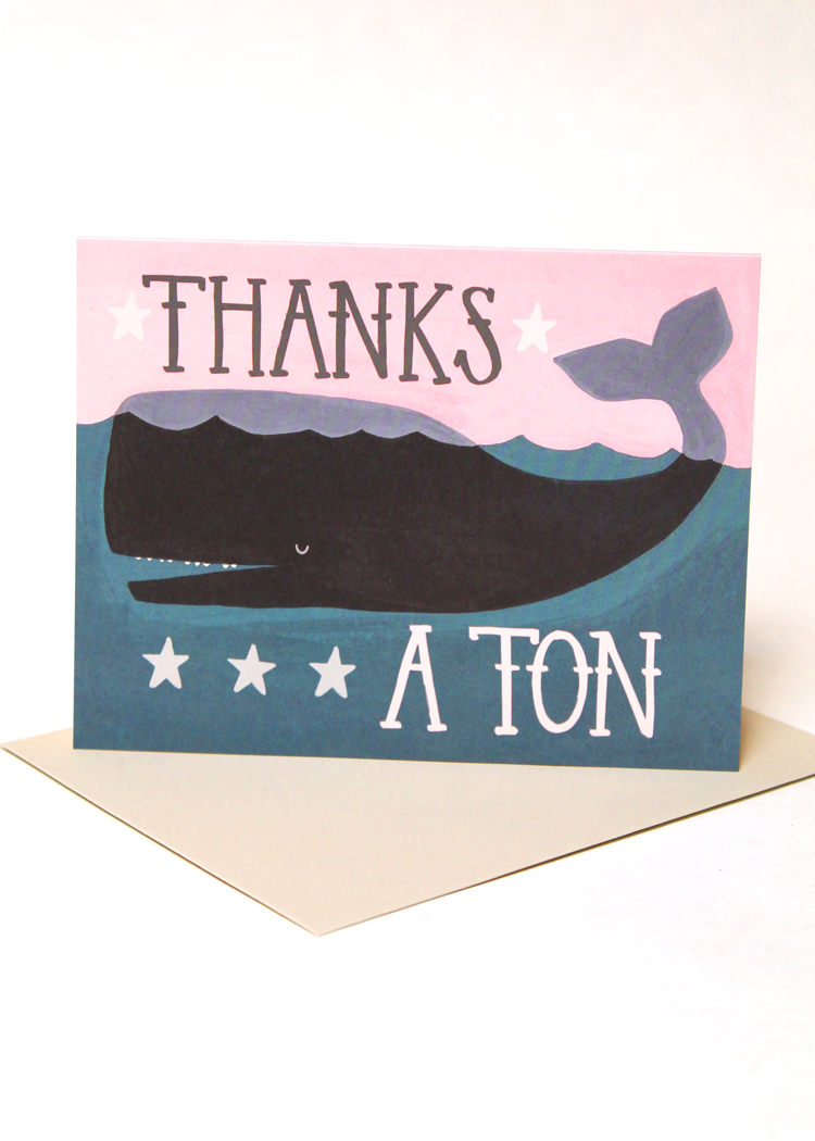 Custom Thank You Note Cards