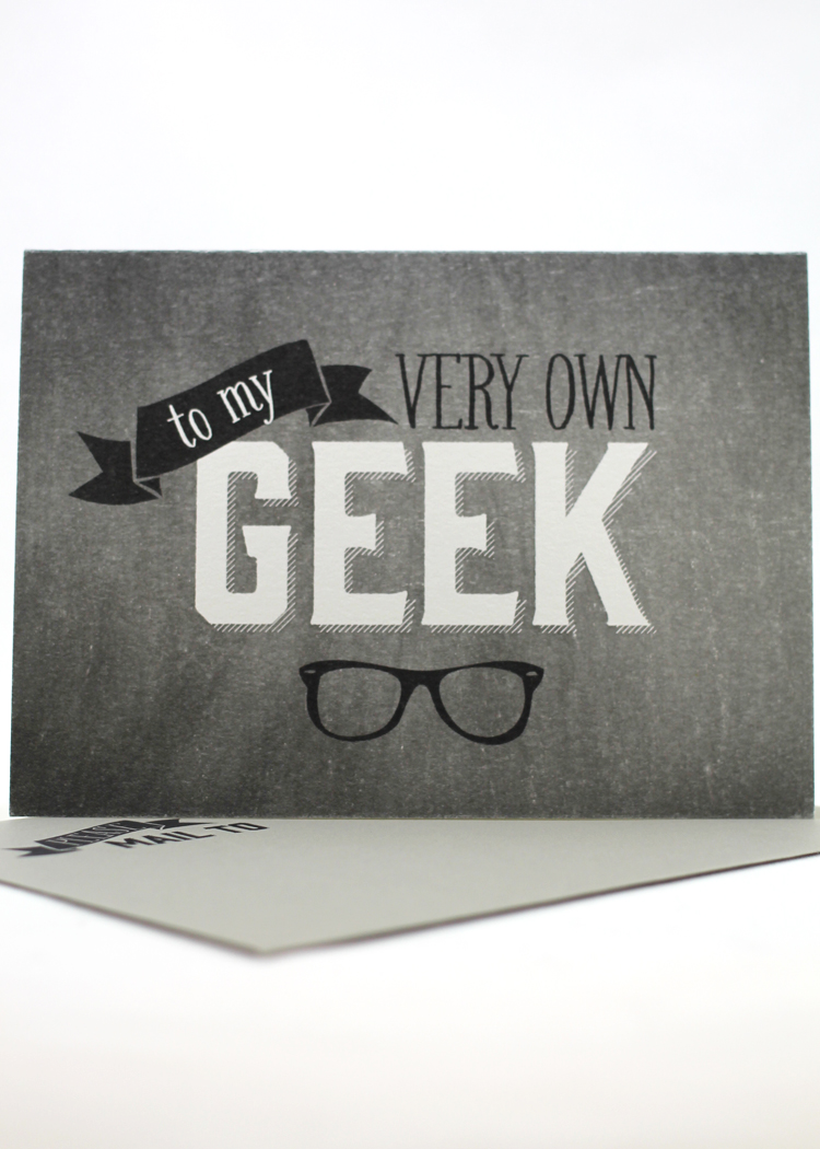 To My Very Own Geek