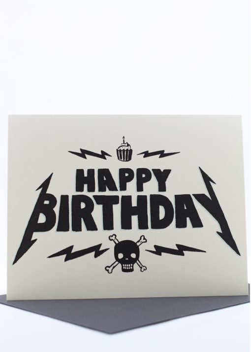 Heavy Metal birthday card