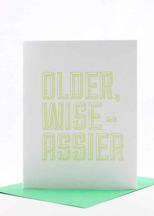 Older, Wise-assier