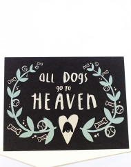 Pet Sympathy Cards For Losing A Dog