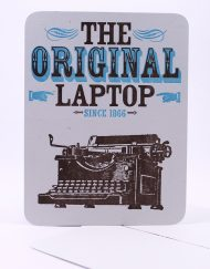 The original laptop postcard