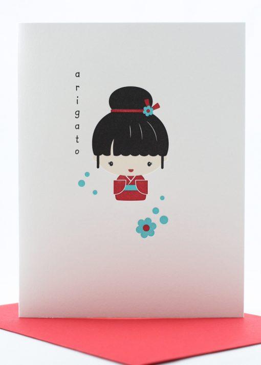 domo arigato card
