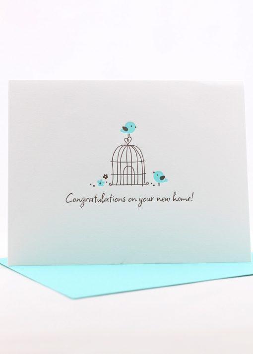 new home congrats card