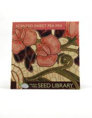 sweet pea heirloom seed packet