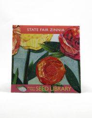 zinnia heirloom seed packet
