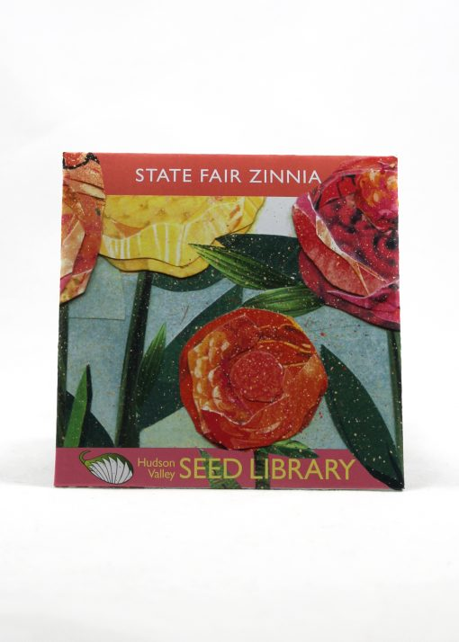 zinnia heirloom seed packet