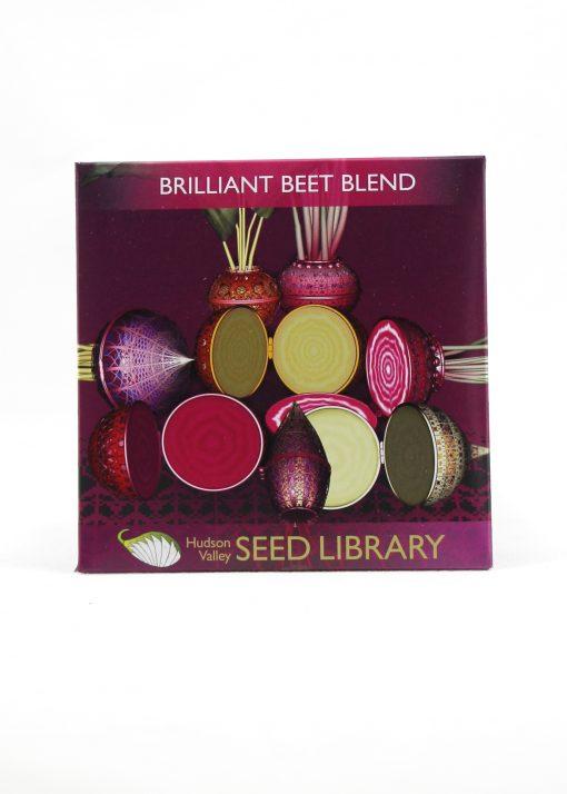 brilliant beet blend seed packet - hand written card gift