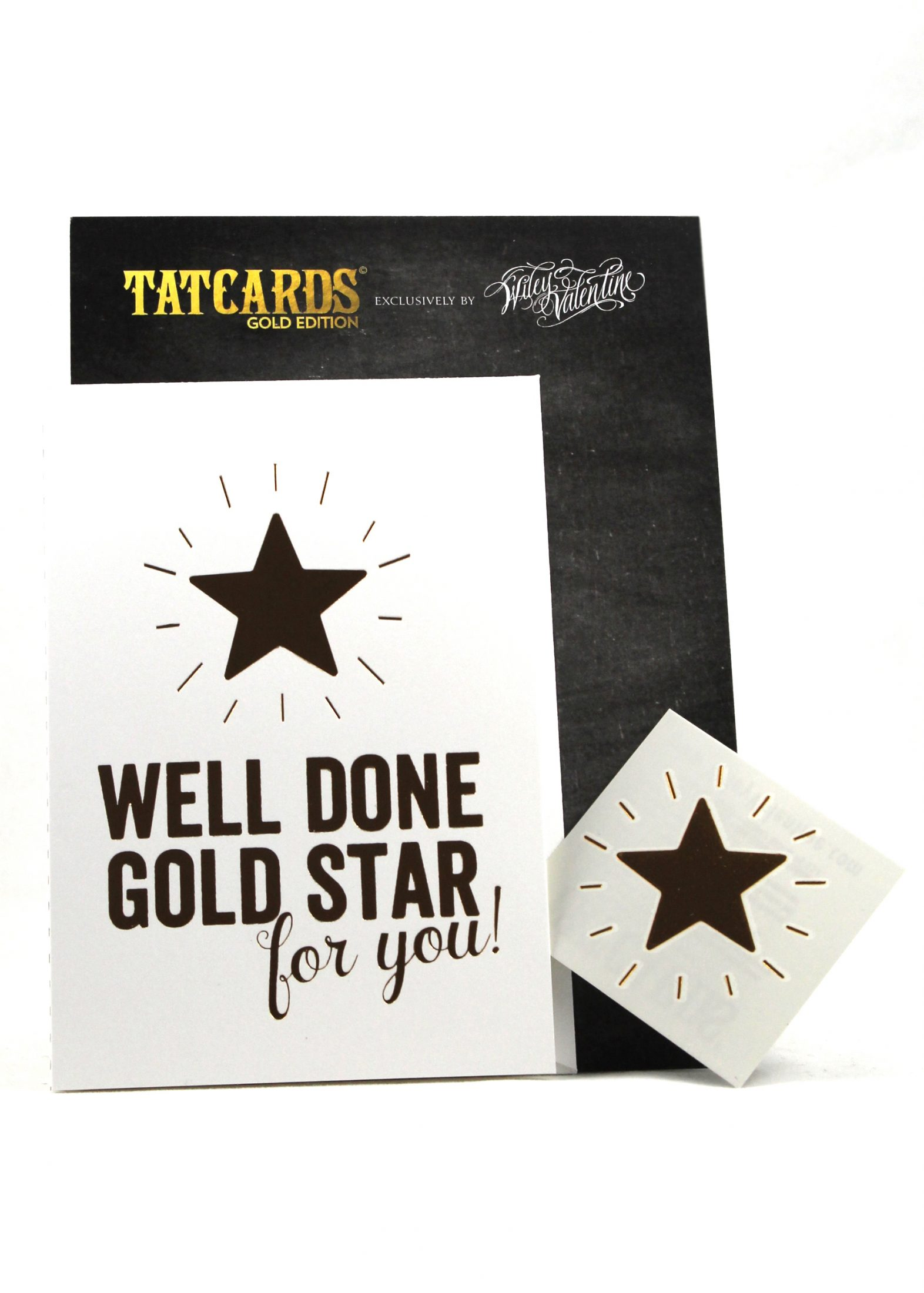 well done gold star for you