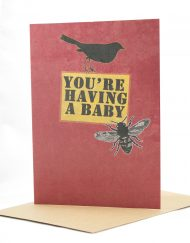 funny baby card