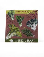 salad savor seed packet