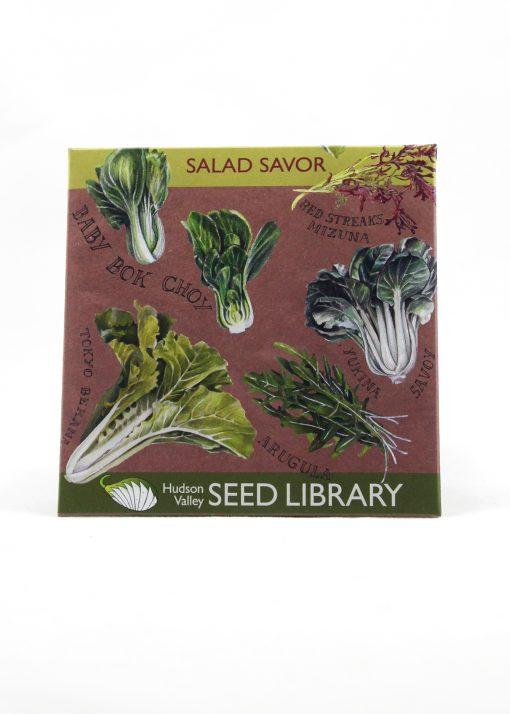 salad savor seed packet