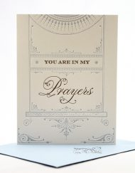 you are in my prayers sympathy cards