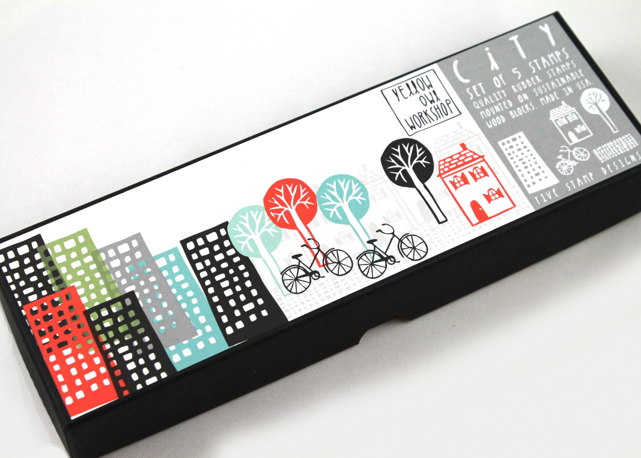 City Design Stamp Set