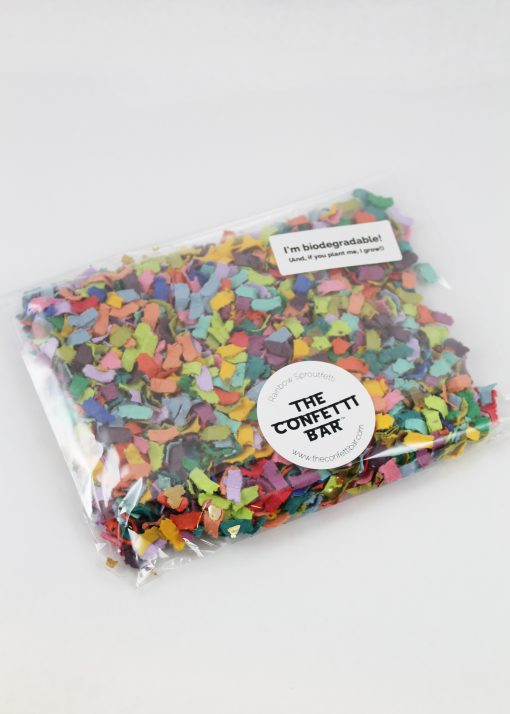 biodegradable confetti pack