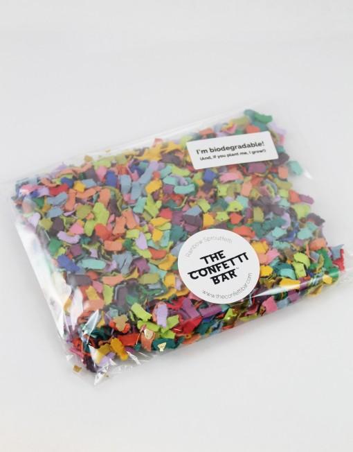 biodegradable confetti pack