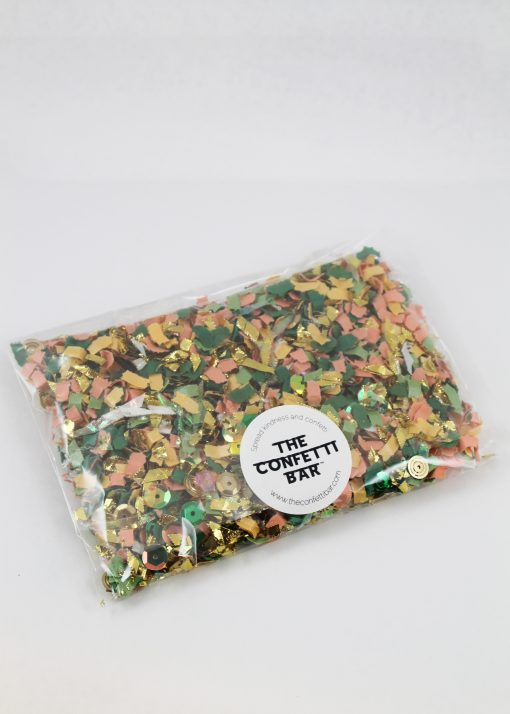 pink and green confetti pack