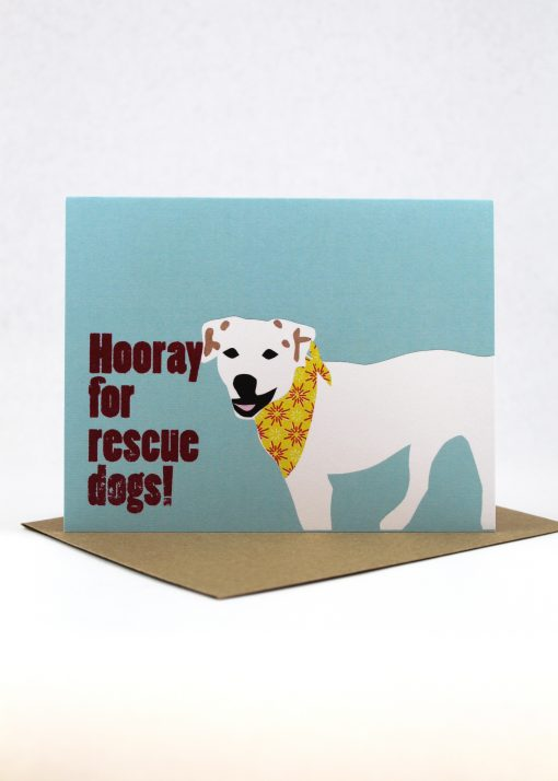 Hooray for rescue dogs