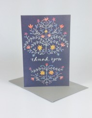 flemish style thank you card