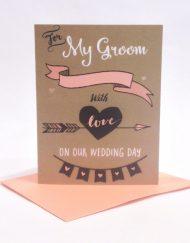 card for groom