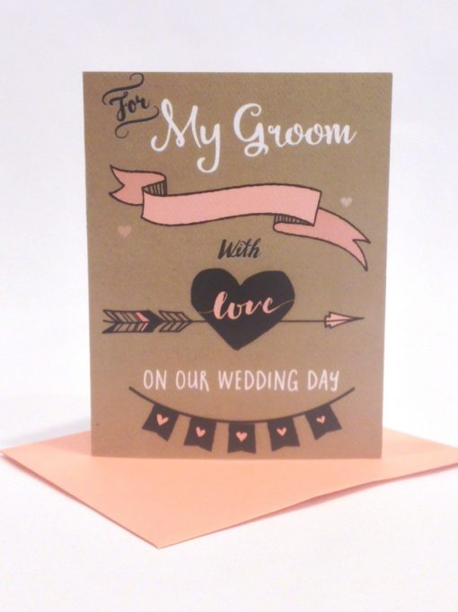 card for groom
