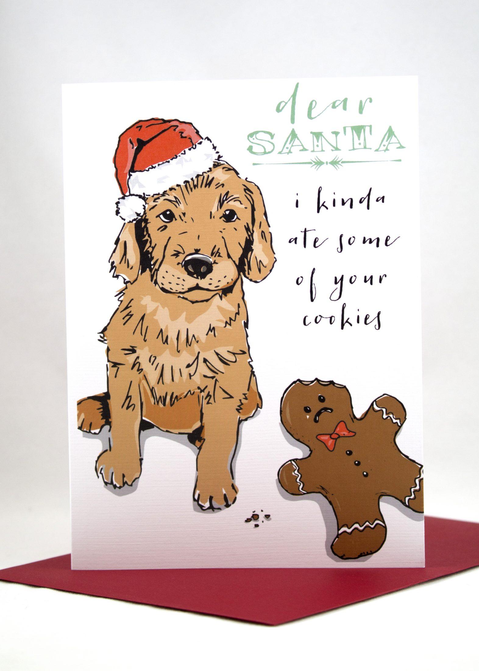 Dear Santa card