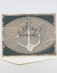 stay strong encouragement card