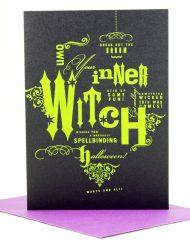 spellbinding halloween card