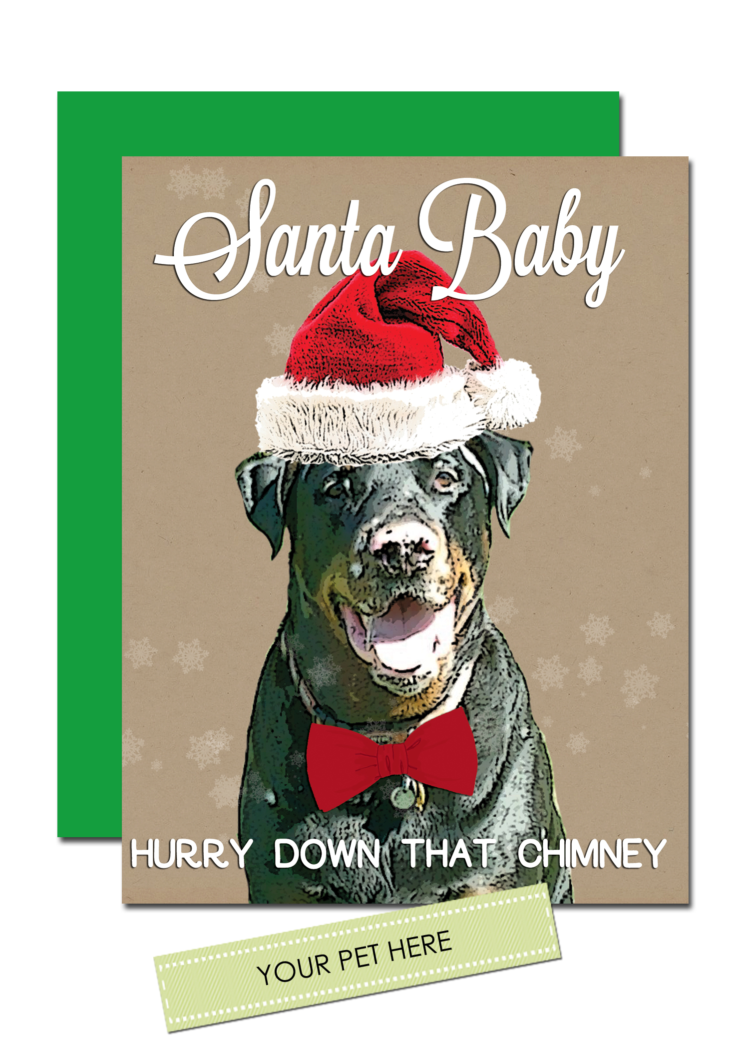 Santa baby holiday cards custom pet holiday cards 10 prev m4hsunfo