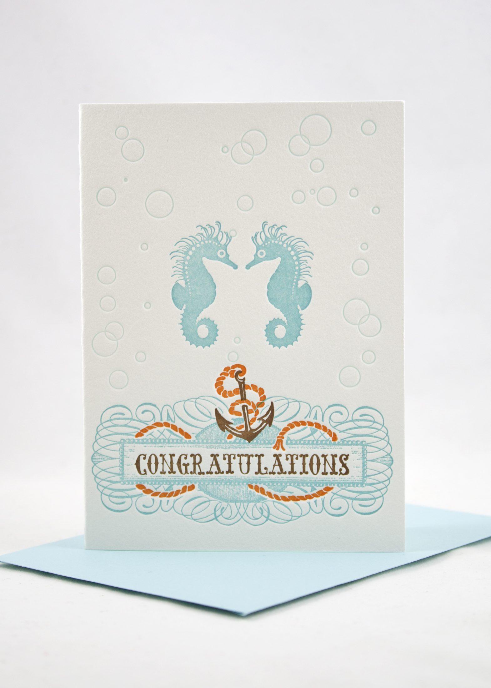 beautiful congrats card