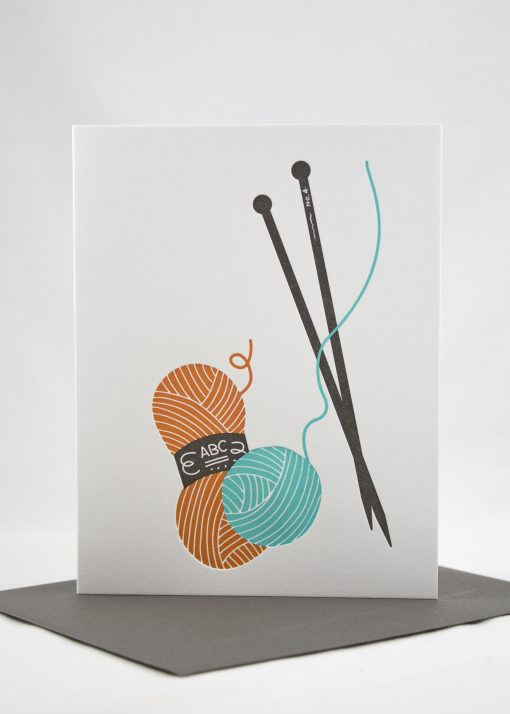 knitter card