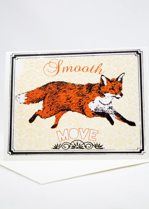 funny fox card