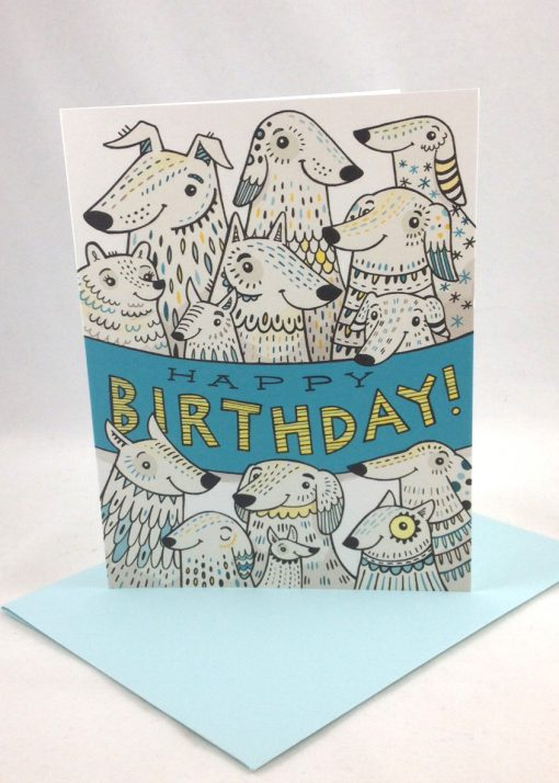 funny dog lovers birthday card