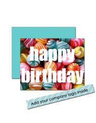 Corporate Sweet Birthday card
