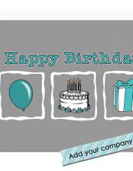 corporate birthday card