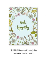 corporate sympathy card