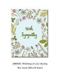 corporate sympathy card