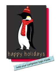penguin happy holoidays