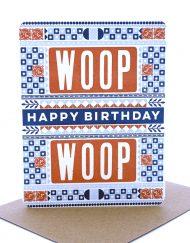 Woop Woop birthday card